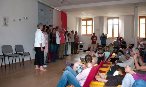 Meine Dankesrunde als Veranstalter mit den Referenten der Reiki Convention 2012.